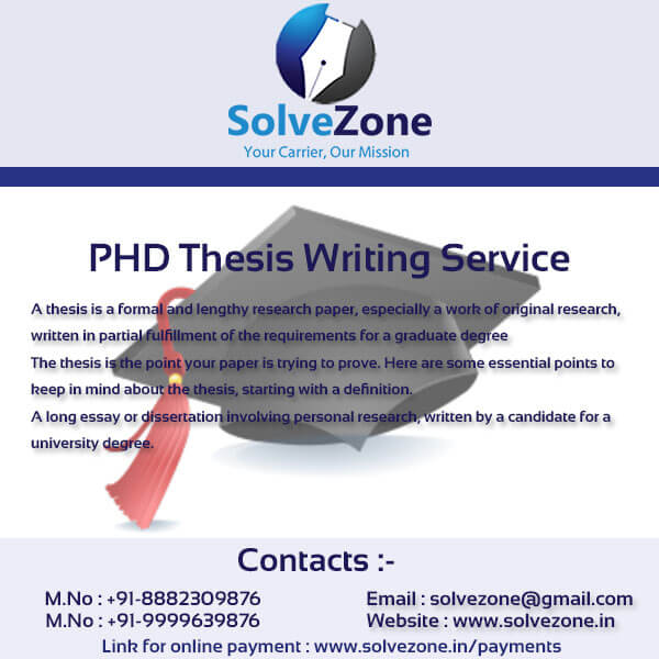 buy phd thesis india Our writing service hires dissertation experts with advanced degrees to create our custom phd level papers pay now at our web-site and get phd thesis help immediately.