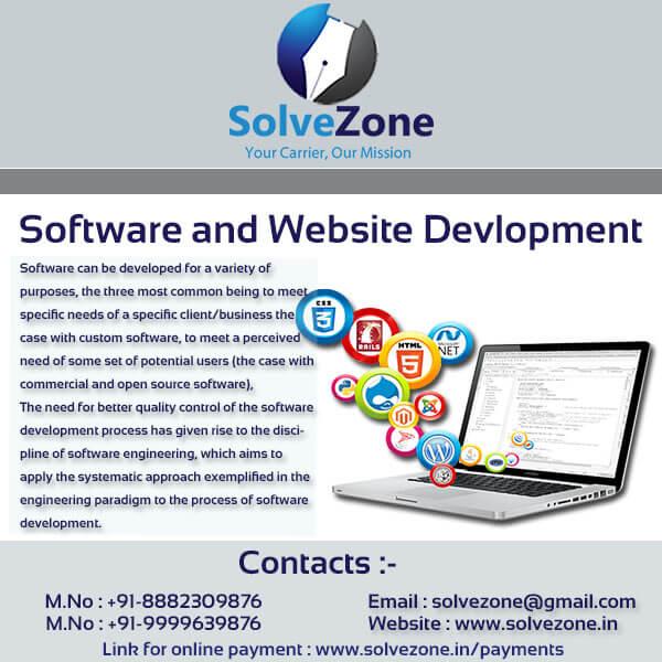 Software and Website Development